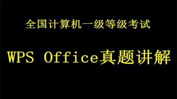 2020版_全国计算机WPS Office一级等级考试