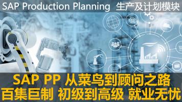 SAP PP实施顾问培训课程-从菜鸟到专家之路