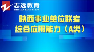 2019年综合应用能力(A类)——陕西事业单位联考