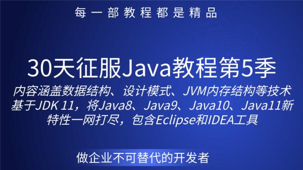 北邮硕士讲授30天征服Java教程第5季 (面向对象)