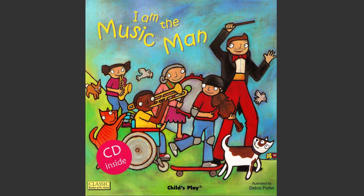 韵律儿歌 | 廖彩杏书单 I am a Music Man