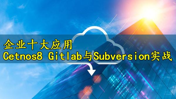 [张彬Linux]企业十大应用-Cetnos8 Gitlab与Subversion实战