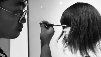 美发技术教程,女士短发裁剪及造型视频