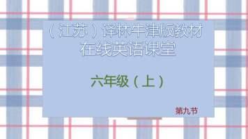 牛津译林版  六年级  第九节课