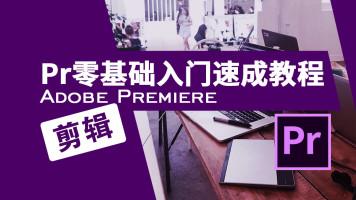 新媒体抖音快手B站PR短视频制作进阶|短视频拍摄|PR后期制作