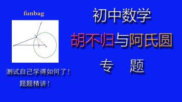 初中数学 九年级 胡不归 阿氏圆 专题