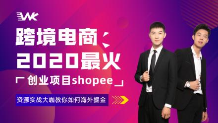 虾皮/跨境电商shopee开店运营实战课