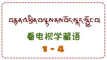 看电视学藏语1-4