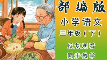 部编版小学语文三年级(下册)小学同步教学