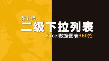 《Excel数据图表360招之二级下拉列表》花随花心著