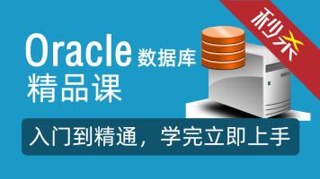 Oracle数据库视频教程 从入门到精通 数据库系统设计教程