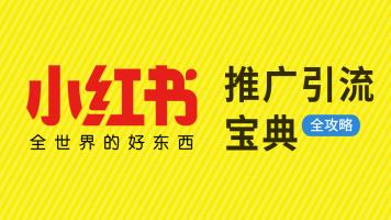 《小红书推广引流宝典》小红书网络营销运营推广全攻略!