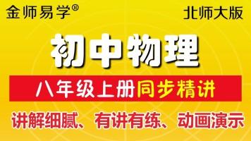 北师大版初中物理八年级上册北京师范大学初二物理同步教学视频