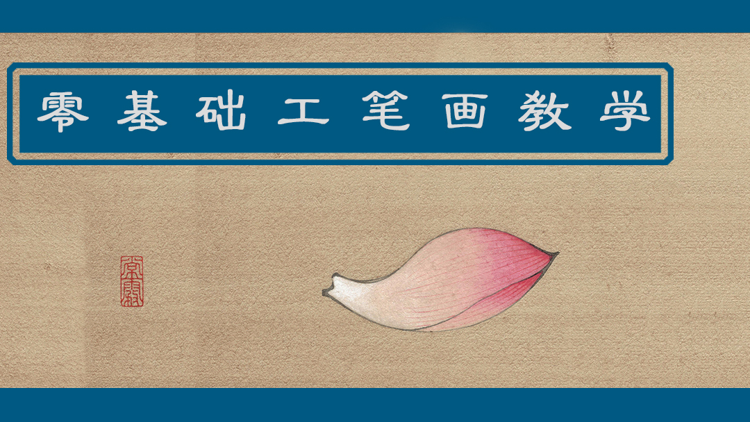 【零基础工笔画教学】花瓣系列