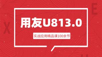 用友U8V13.0实战入门到精通|系统录制成套视频|共100节|更新中