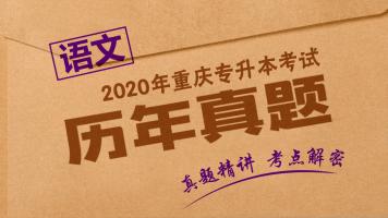 重庆专升本历年真题《大学语文》