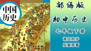 人教版初中历史七年级(下册)同步教学