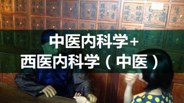 医师:中医内科学+西医内科学(中医)-中医执业医师、助理中医师