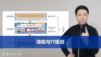 流程与IT规划