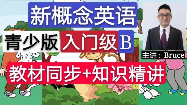 【精品】新概念英语青少版(入门级B)教材同步+知识精讲