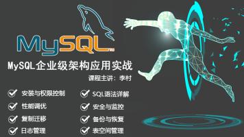 MySQL企业级架构应用实战