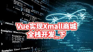 Vue实现Xmall商城全栈开发_下