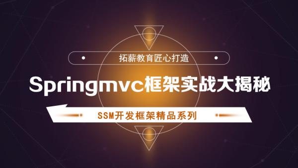 Springmvc框架实战大揭秘