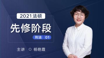 法硕先修阶段刑法杨艳霞