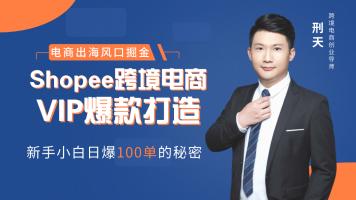 东南亚跨境电商Shopee实操VIP爆款班课程学习卡(1年)
