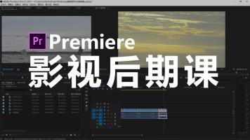 Premiere影视后期课 PR视频剪辑教程