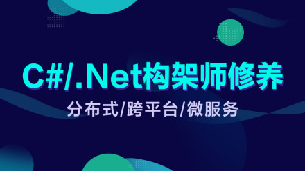 C#/.Net架构师修养(.NetCore/分布式/微服务/框架搭建/架构落地)