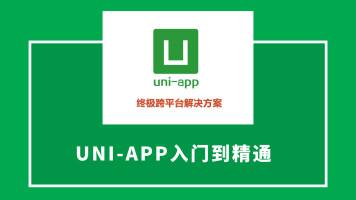 uniapp基础入门到精通知识点精讲(第一季)