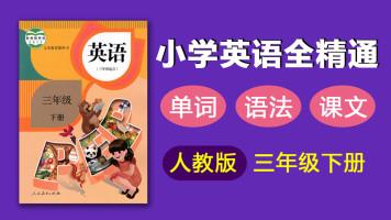 人教版三年级下册同步英语 单词 语法 课文 全精通
