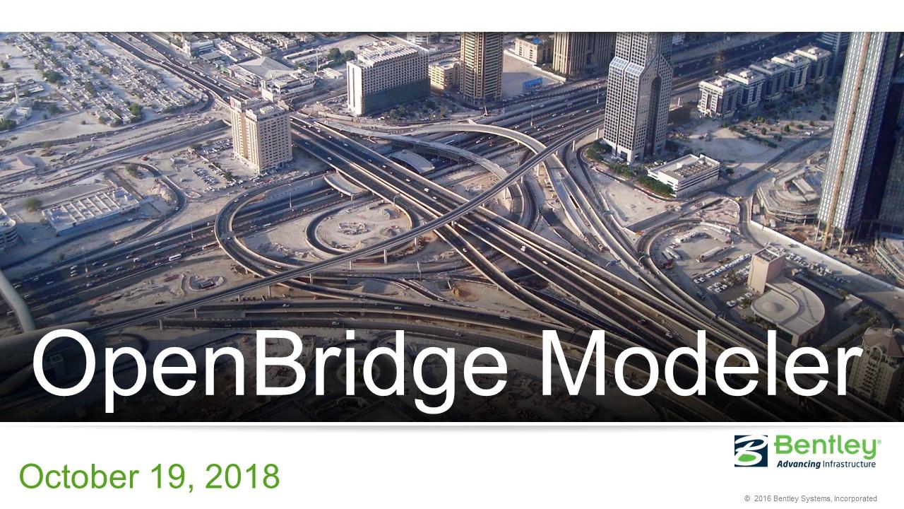 OpenBridgeModeler桥梁BIM建模