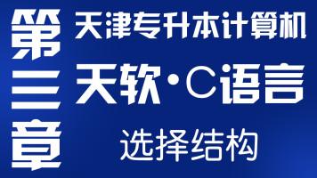 2021年天津专升本-大软C语言-第三章