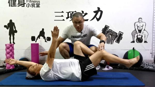 中老年家庭健身:力量+心肺+协调训练