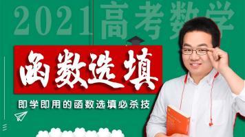 【函数选填满分必杀技】2021高考数学高中数学