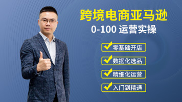 亚马逊跨境电商0-100开店选品运营实操课【百聚汇】