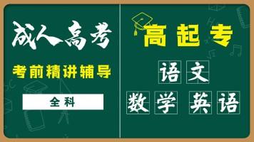 成人高考-高升专-语文统考课程试听课