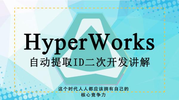 基于Hyperworks的自动提取ID二次开发讲解