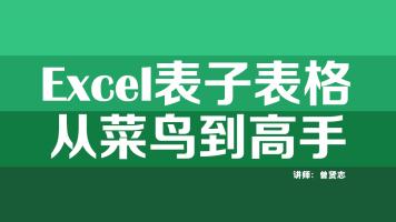 Excel表子表格(从菜鸟到高手)