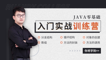 Java零基础实战训练营
