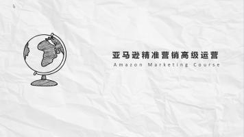 亚马逊高级运营和精准营销
