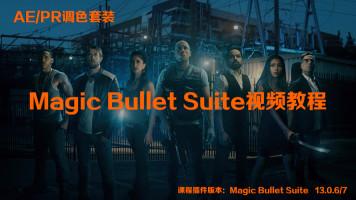 AE/PR视频调色套装Magic Bullet Suite13支持达芬奇loooks