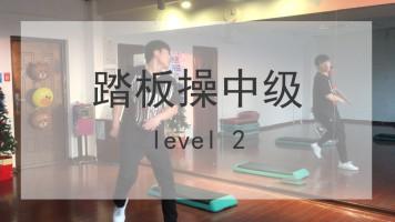 L5实录踏板操中级live class level2