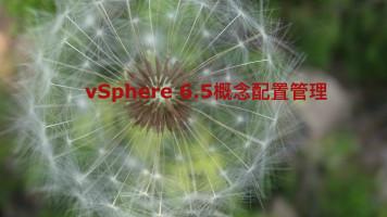虚拟人·vSphere 6.5概念配置管理