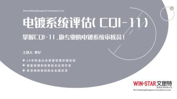 电镀系统评估(CQI-11)