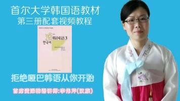 首尔大韩国语第三册配套视频教程,中高级韩国语口语课程-少海韩语
