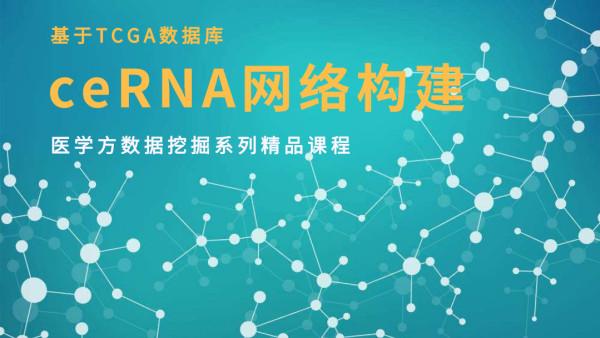 医学方|基于TCGA数据库ceRNA网络构建