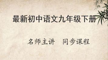 最新初中语文九年级下册同步课程